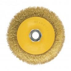 Щетка-крацовка Biber 70973 дисковая 115 мм, М14 для УШМ
