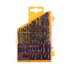 Набор сверл по металлу Biber 74131 HSS Стандарт 1,5-6,5 мм (13 шт.)