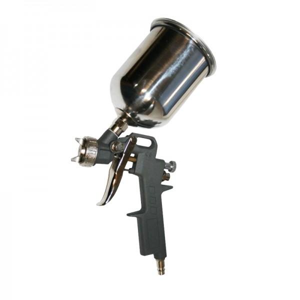 Краскопульт пневматический QE 770-810 верх. бачок 600 мл, сопло 1,5 мм