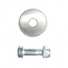 Запасной ролик Biber 55181 для плиткореза Профи 22х6х2 мм