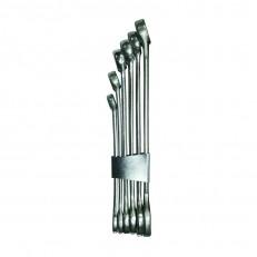 Ключ гаечный Biber 90610 рожковый, кованый, оцинкованный 17х19 мм