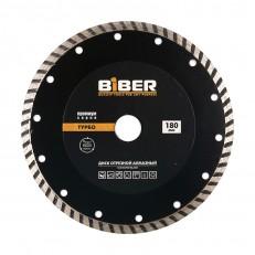 Диск алмазный Biber 70255 Турбо Премиум 180 мм