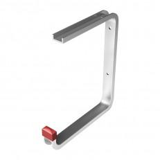 Крюк потолочный, 175х210х145 мм, алюминий, серебро анод.