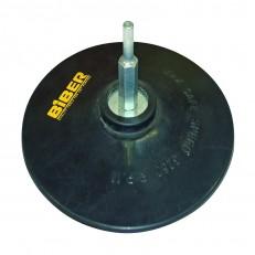 Диск опорный Biber 70862 125 мм, резиновый, с винтом