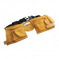Пояс для инструмента Biber 96261 8 карманов, 2 скобы
