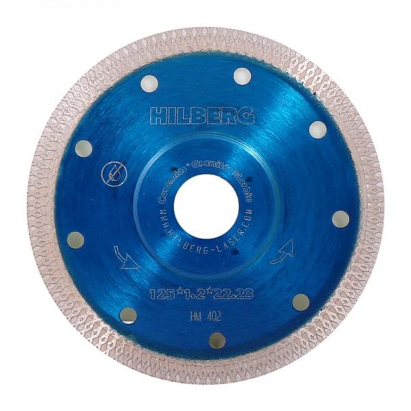 Диск алмазный ультра тонкий турбо Х 125х22х1,22 мм