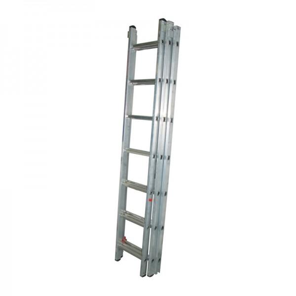 Лестница универсальная Biber 98215 3-х секционная 15 ступеней