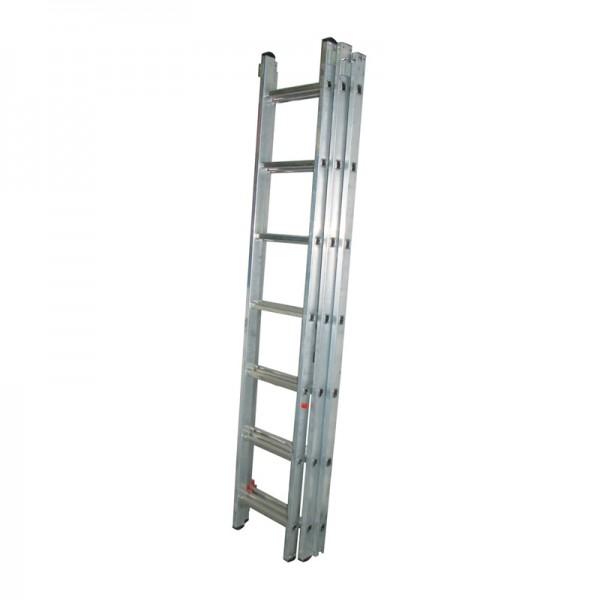 Лестница универсальная Biber 98213 3-х секционная 13 ступеней