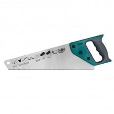 Ножовка по дереву Варяг 85675 3х гранная заточка, средний зуб, 400 мм