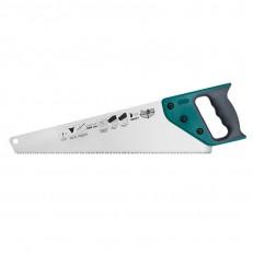 Ножовка по дереву Варяг 85677 3х гранная заточка, средний зуб, 500 мм