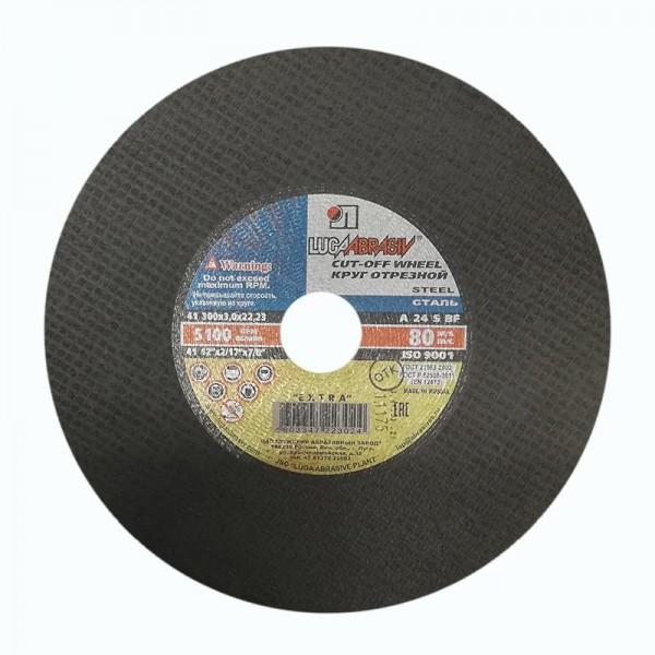 Диск отрезной Луга 300х3,0х22,2 мм по металлу