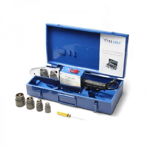 Аппарат для сварки полипропиленовых труб d=20-63 мм 1500 Вт (4 насадки)