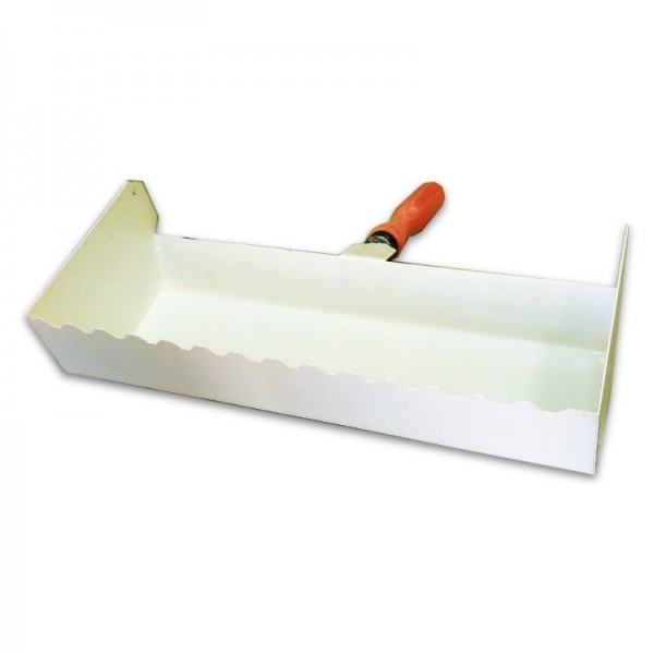 Кельма-ковш по газобетону для клеевого раствора 200 мм