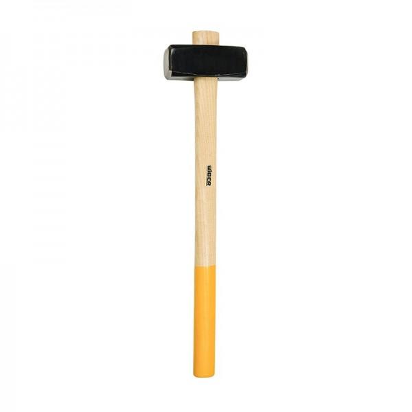Кувалда кованая Biber 85163 Стандарт с обратной рукояткой 3 кг