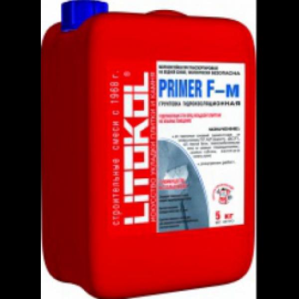 Грунтовка для обработки оснований PRIMER F-м 5 кг